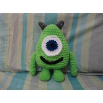 Mike Monster Tejido Al Crochet