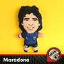 Maradona Muñecos 1986 Vellon Tela Peluche