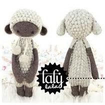 Patrón Lalylala Oveja - Amigurumi - Crochet - En Español