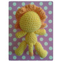 León Tejido A Crochet (ganchillo) - Técnica: Amigurumi