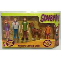 Muñecos Scooby Doo X 5 Personajes Mystery Solving Crew