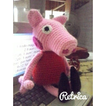 Pepa Pig Amigurumi Tejido
