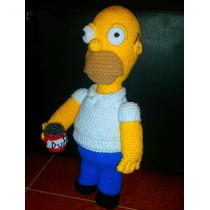 Homero Simpson Tejido A Crochet