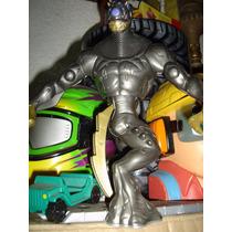 El Enemigo De Max Steel. Elementor De Metal, Genial !!!