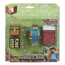 Minecraft Muñeco Articulado Survival Pack Bunny Toys
