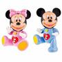 Mickey Disney Baby Minnie Muñeco Sonido Y Luz Clementoni
