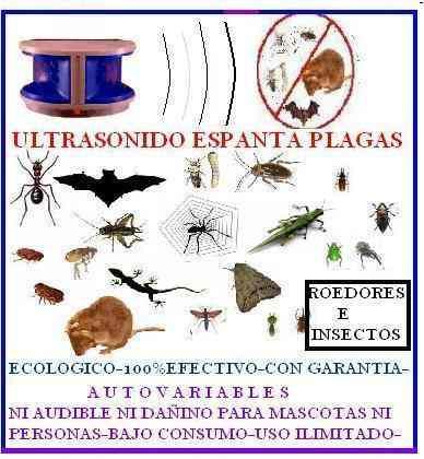 Murcielagos Ratas Huyentador Ultrasonico Exterminar Plagas