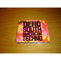 Dj Dero South American Techno 3 Cd Digipak Electro Dance