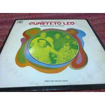 Disco De Cuarteto Leo - Presenta Su Lp N° 20