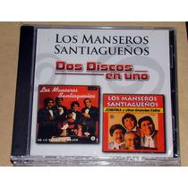 Los Manseros Santiagueños Dos Discos En Uno Cd Sellado