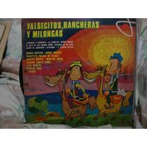 Vinilo Valsecitos Rancheras Y Milongas