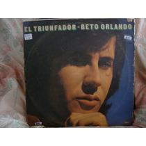 Vinilo Beto Orlando El Triunfador