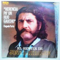 Lp - Jose Larralde - Herencia Pa