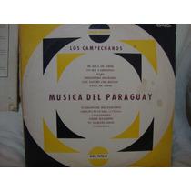 Vinilo Los Campechanos Musica Del Paraguay