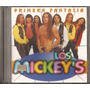 Los Mickeys Cd Primera Fantasia 1997 Cumbia Retro Cd Origina