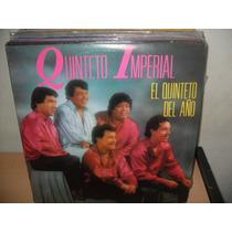 Quinteto Imperial El Quinteto Del Año Lp Vinilo Cumbia 1989