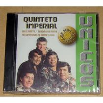 Quinteto Imperial Unicos Serie De Coleccion Cd Nuevo Sellado