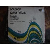 Vinilo Conjunto Pro Musica De Rosario Vol 1