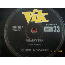 Chico Novarro Primavera-cumbia Bendita- Vik Vinilo Simple