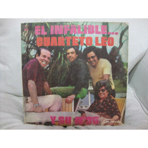 Long Play Disco Vinilo Cuarteto Leo El Infalible Y Su Nº 35