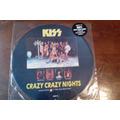 Kiss Crazy Crazy Nights Picture Disc Single Sobre Original