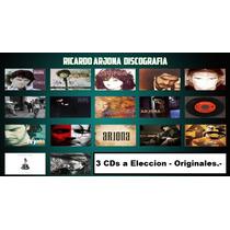 Lote 3 Cds A Eleccion Ricardo Arjona - Nuevos/ Originales.-