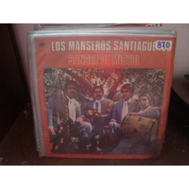 Vinilo Los Manseros Santiagueños Sangre De Mistol P2
