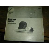 Giorgio Gaber - Liberta Obligatoria - Lp - Vinilo