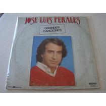Jose Luis Perales Grandes Canciones Lp Vinilo Importado Raro