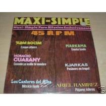Horacio Guarany Ariel Ramirez Maxi Simple Argentino Promo