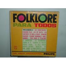 Eduardo Falu Quilla Huasi Folklore Para Todos Vinilo Arg