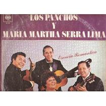 Los Panchos Y Maria Martha Serra Lima. Long Play