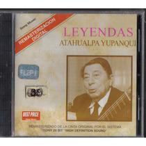 Atahualpa Yupanqui Leyendas Cd Nuevo Remasterizado Digital