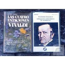Wagner- Vivaldi: Las 4 Estaciones, Etc - 2 Cassettes