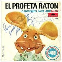 Disco Simple El Topo Gigio Con Pinocho El Profeta Raton Raro
