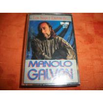 Manolo Galvan Grandes Exitos Cassette Original