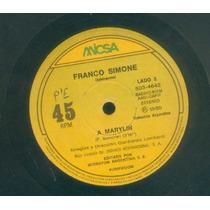 Franco Simone Disco De Vinilo Simple