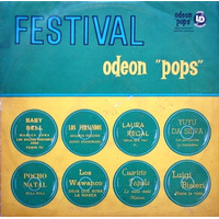 Varios - Festival Odeon Pops - Lp - Baby Bell/ Yuyu Da Silva