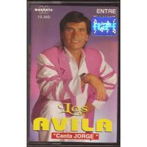 Los Avila Entre Tu Y Yo Canta Jorge Cumbia Cassette Nuevo