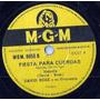 David Rose Y Su Orquesta ( Disco De Pasta ) M G M 8850