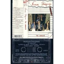 Nueva Pagina Te Amare Cassette