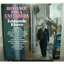 Edmundo Rivero Romance Para Una Vereda Vinilo Argentino