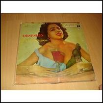 Trio Los Panchos Lp Argentina Bolero Sexy Cover