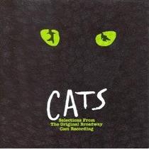 Cats Selections From The Original Broaway Cast Cd Importado