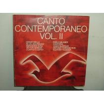Mercedes Sosa Canto Contemporaneo Vol 2 Vinilo Argentino