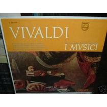 I Musici Concierto Dos Violines Vivaldi Vinilo Argentino