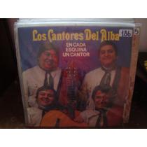 Vinilo Los Cantores Del Alba En Cada Esquina Un Cantor P2