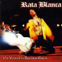 Cd Rata Blanca - En Vivo En Buenos Aires ( Visitá Mi Eshop )