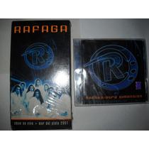 Lote Cd Rafaga Otra Dimension + Vhs Show En Vivo Mdp