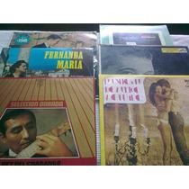 6 Discos Vinilos - Generos Musicales Varios - Precio X 6